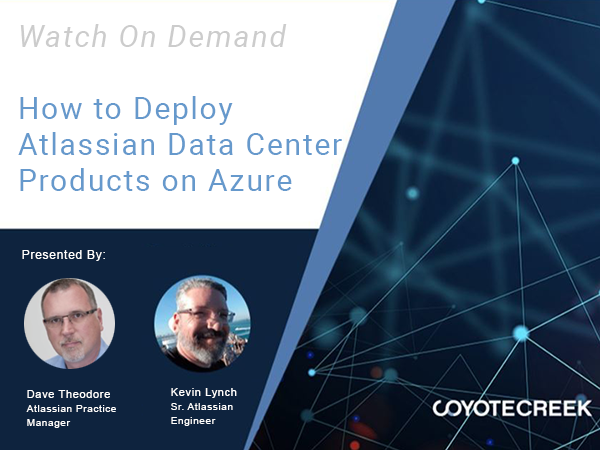 How to Deploy Atlassian Data Center Products on Azure